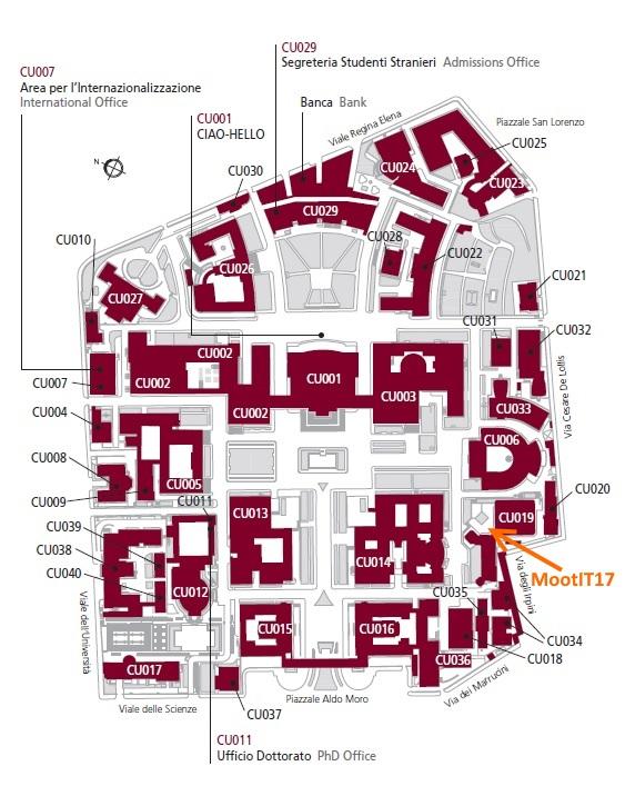 Mappa della Sapienza