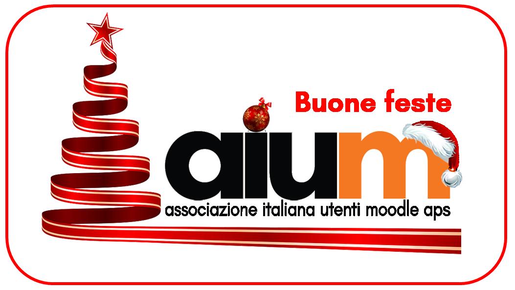Auguri dall'Associazione Italiana Utenti Moodle