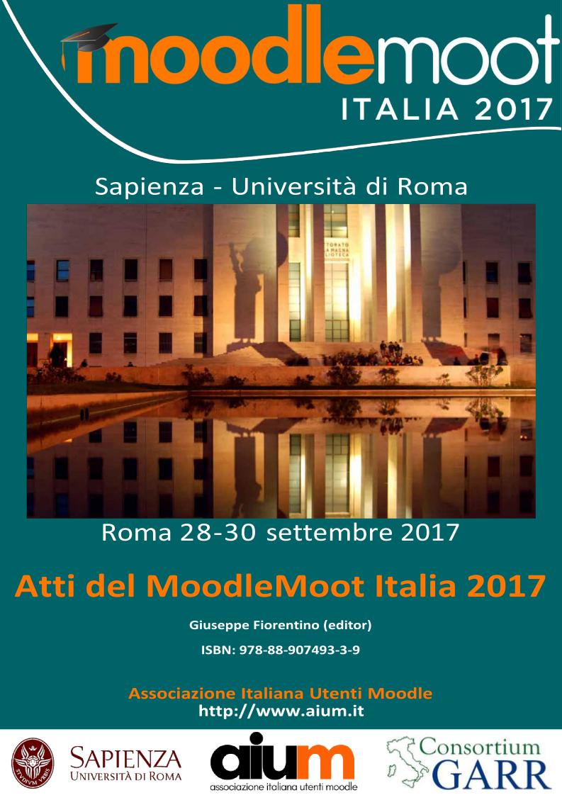 Atti del MoodleMoot Italia 2017
